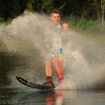 Tom Waterskiing 027