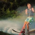 Tom Waterskiing 037