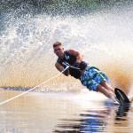 Tom Waterskiing 072